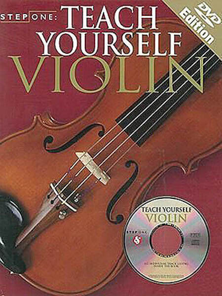Teach Yourself Violin Beginner Lessons Learn How to Play Video Step One Book DVD