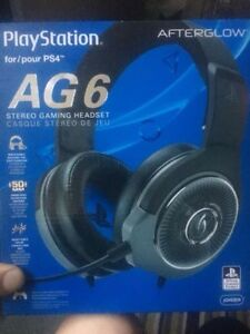 PS4 AG6 Stereo Gaming Headset