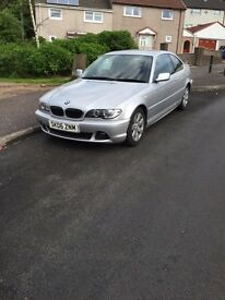 BMW 325 CI SE 21850 on the clock