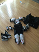 Ice Hockey Equipment for  3 , 4 and maybe 5 year olds