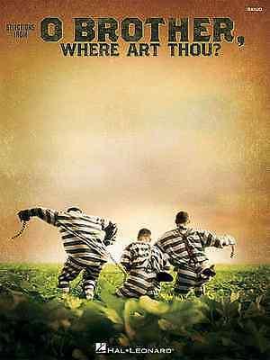 O BROTHER WHERE ART THOU - BANJO TAB MUSIC SONG BOOK