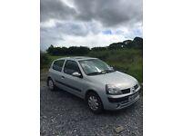 Renault Clio 1.2 petrol MOTd