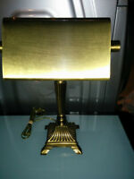 Beautiful Bronze Desk Lamp - paid over $130