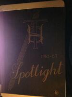 1962-63 Trenton Highschool Yearbook