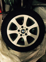 BMW Original RunFlat winter / snow tires & Alloy Rims 205/55R16