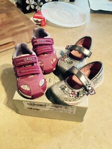 Size 5 and 5.5 little girls shoes
