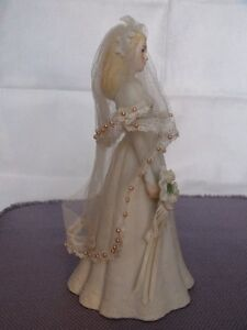 Music Box Blonde Haired Bride Figurine London Ontario image 5