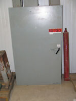 ELECTRIC CONTROL PANNEL