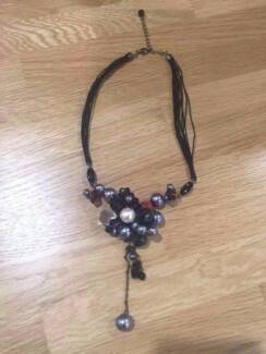 Womens Necklace with Pearls Lane Cove Lane Cove Area Preview