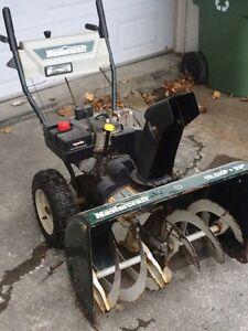 Souffleuse/snow blower master craft 29 inch