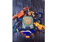 Nerf Gun and Target Bundle.