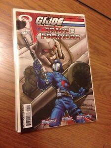 G.I.Joe Vs. Transformers, Complete Run #1-6. Image comics. 2003 Windsor Region Ontario image 2