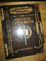 ***DUNGEONS & DRAGONS PLAYERS HANDBOOK CORE RULEBOOK I***