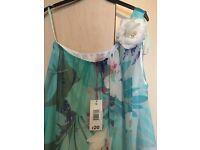 Brand NEW One shoulder floral dress