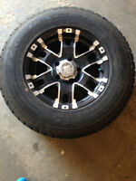 4 Good Year Ultra Grip Ice Tires with Rims