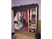 Make shift wardrobe for sale