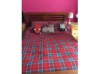 Lovely double bed and mattress for sale