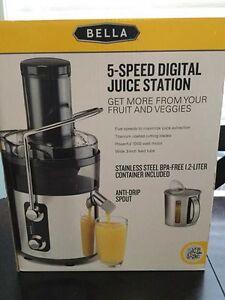 Bella Digital Juicer London Ontario image 1