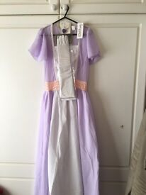 Titanic 'Rose' fancy dress outfit size 8-10