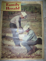 ...AN OLD AUGUST 1959 ISSUE of THE FAMILY HERALD...