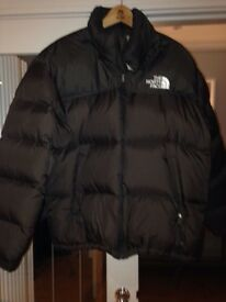 North Face puffa jacket