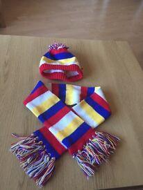 Build a bear workshop hat and scarf set
