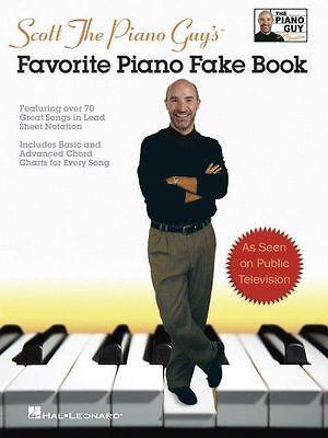 Scott The Piano Guy Favorite Piano Fake Book Sheet Music Songbook NEW 000240281