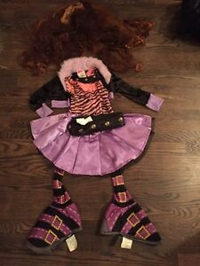Costume Halloween Monster High, Clawdeen Wolf