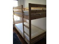 Ikea Mydal bunk beds 6 months old