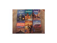 Travel books - £5 each