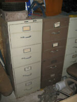 Filing cabinets 4 drawers