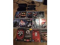 2PSP's two cases and 3 games 11films 1 charger all working fine