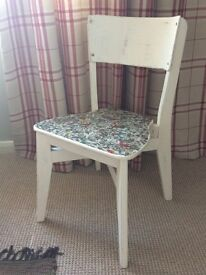 Up cycled vintage chair