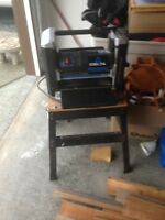 DELTA THICKNESS PLANER ON STAND