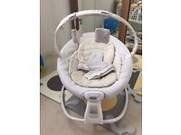 Graco soothing seat rocker baby 0-9 month