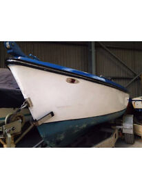 Boat launch with volvo penta inboard 17ft fishing, river cruiser diesel