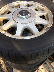 Two tires with aluminum rims  Windsor Region Ontario image 1