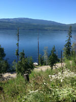 North Shuswap 16 Acres Semi Waterfront View Property