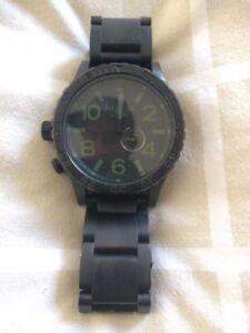 Nixon Tide Watch 51-30 Gun Metal.