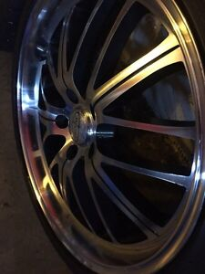 """** BEAUTIFUL DEEP DISH 19"""" RIMS WITH TOYO TIRES MINT!!"""