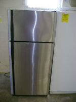 Kenmore stainless fridge. 90 day warranty. $399.