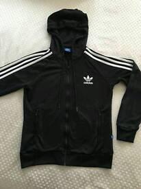 Black addidas hoodie