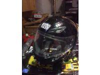 AGU K-4 EVO motorbike motorcycle bike helmet only £30