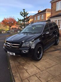 Mercedes Gl 420cdi amg 7 seater not q7 or cayenne
