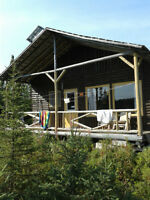 Chalet chasse&pêche Monts-Valins, lac Mire-poix