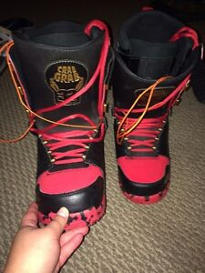 Burton Custom Snowboard and Boots