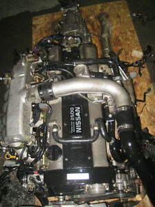 94 98 NISSAN SKYLINE R33 240SX RB25DET ENGINE 5SPEED TRANS JDM