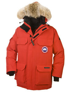 Canada Goose Men's Expedition Parka - Red, XL