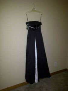 Beautiful Black and White Strapless Dress for sale! Cambridge Kitchener Area image 1