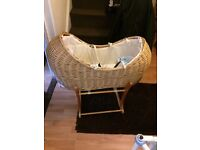 Mothercare crib with stand